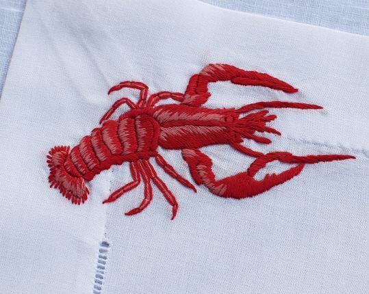 Подложка под столовые приборы Lobster 51 Х 38 см, 6 шт производства ERI Textiles купить в онлайн магазине beau-vivant.com