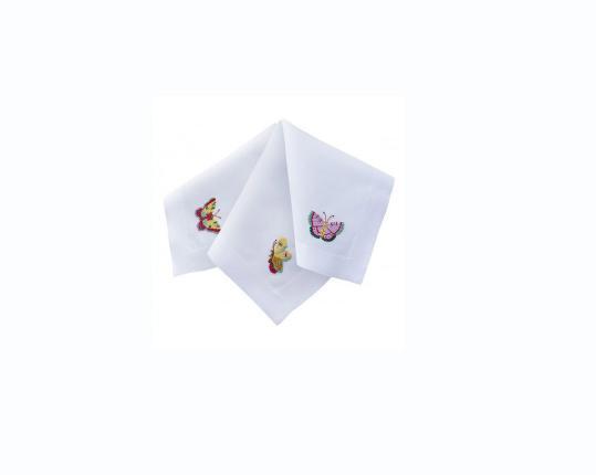 Салфетки Butterfly coloured 6 шт производства ERI Textiles купить в онлайн магазине beau-vivant.com