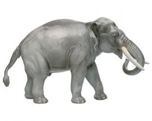 """Фарфоровая фигурка """"Слон"""" 811b"""