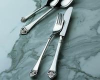 Набор на 6 персон из 30 предметов Rosenmuster (серебро)