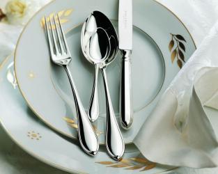 Набор на 6 персон из 30 предметов Navette (серебро)