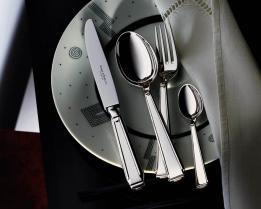 Набор на 6 персон из 30 предметов Art Deco (посеребрение)