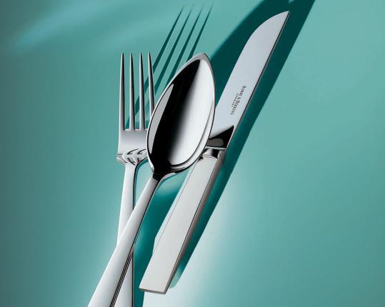 Набор на 6 персон из 30 предметов Riva (посеребрение) производства Robbe & Berking купить в онлайн магазине beau-vivant.com