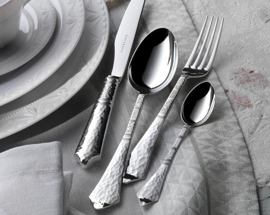 Набор на 6 персон из 30 предметов Hermitage (посеребрение) производства Robbe & Berking купить в онлайн магазине beau-vivant.com