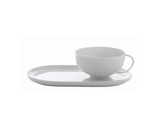 Чашка чайная с подносом Haute Couture 170 мл производства Nymphenburg купить в онлайн магазине beau-vivant.com