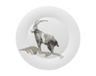 Тарелка гурме/блюдо Piqueur 32/2 см (горный козёл)