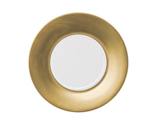 Тарелка Polite Gold 32 см производства Hering Berlin купить в онлайн магазине beau-vivant.com