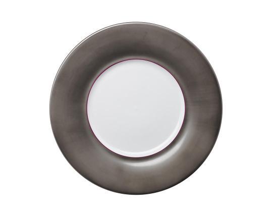 Тарелка Polite Platinum 32 см производства Hering Berlin купить в онлайн магазине beau-vivant.com