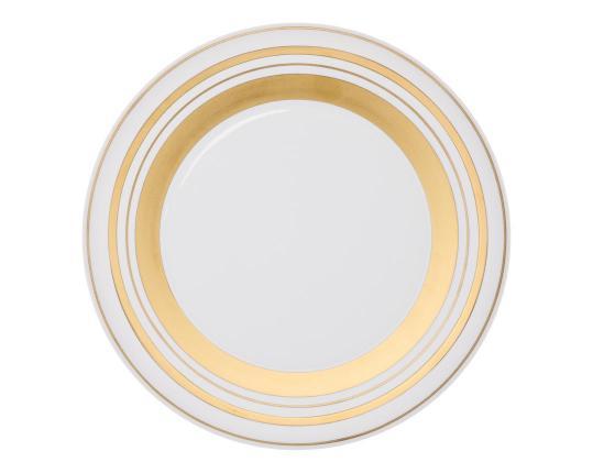 Подстановочная тарелка Glamour Gold 37 см производства Hering Berlin купить в онлайн магазине beau-vivant.com