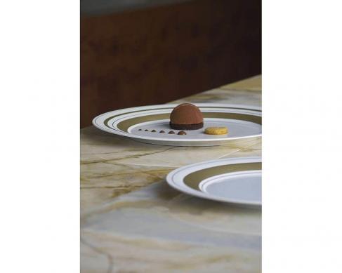 Подстановочная тарелка Glamour Gold 37 см