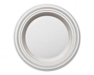 Подстановочная тарелка Glamour Platinum 37 см