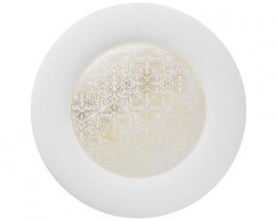 Подстановочная тарелка Alif Gold 37 см