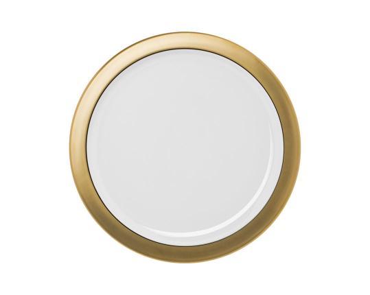 Блюдо Polite Gold 32,5 см производства Hering Berlin купить в онлайн магазине beau-vivant.com