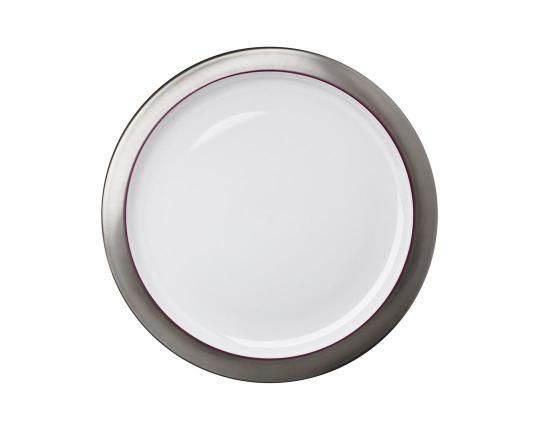 Блюдо Polite Platinum 32,5 см производства Hering Berlin купить в онлайн магазине beau-vivant.com