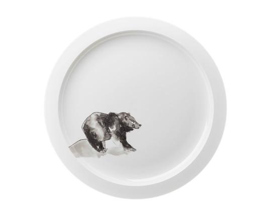 Тарелка гурме Piqueur 32,5 см производства Hering Berlin купить в онлайн магазине beau-vivant.com