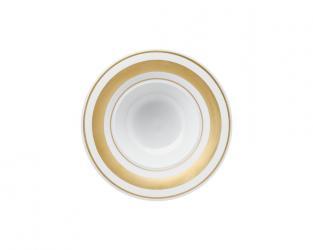 Тарелка глубокая Glamour Gold 25 см