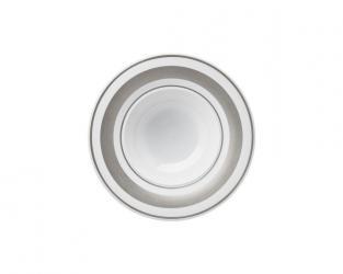 Тарелка глубокая Glamour Platinum 25 см