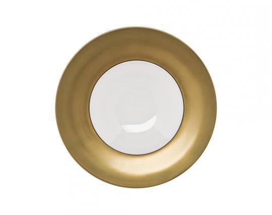 Тарелка Polite Gold 30 см  производства Hering Berlin купить в онлайн магазине beau-vivant.com