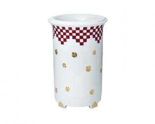Фарфоровая ваза 27 см