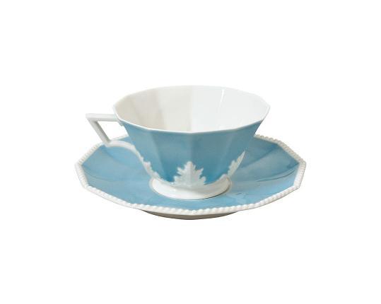 Чашка чайная с блюдцем Perl Symphonie 160 мл  производства Nymphenburg купить в онлайн магазине beau-vivant.com