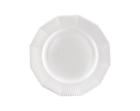 Тарелка десертная Perl Weiss 19 см  производства Nymphenburg купить в онлайн магазине beau-vivant.com