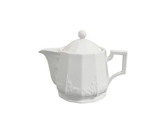 Чайник Perl Weiss 1250 мл производства Nymphenburg купить в онлайн магазине beau-vivant.com