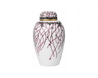 Фарфоровая ваза 25 см