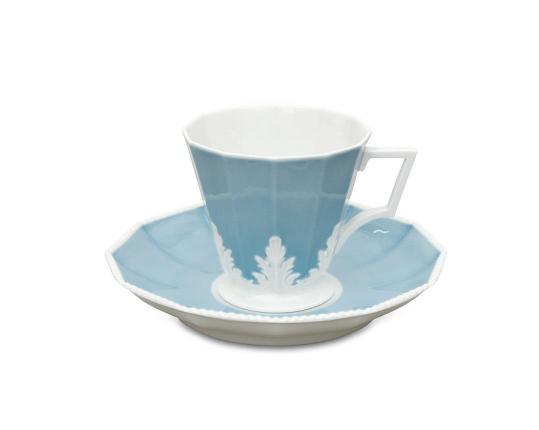 Чашка чайная с блюдцем Perl Symphonie 250 мл  производства Nymphenburg купить в онлайн магазине beau-vivant.com