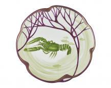 Тарелка Belle Epoque 24 см (омар)