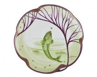 Тарелка Belle Epoque7 24 см (форель)