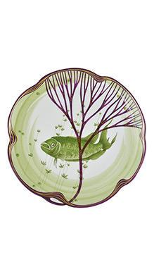 Тарелка Belle Epoque 24 см (макропод)