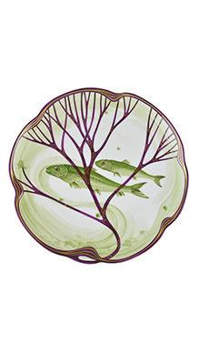 Тарелка Belle Epoque 24 см (элопсы)