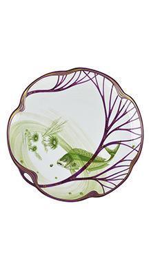 Тарелка Belle Epoque 24 см (скумбрия)