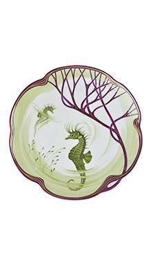 Тарелка Belle Epoque 24 см (морской конёк)
