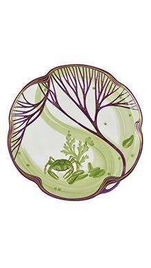 Тарелка Belle Epoque 24 см (краб)