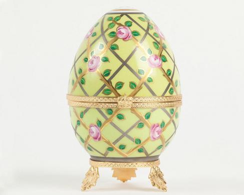 "Шкатулка фарфоровая ""Яйцо"" 12 см"
