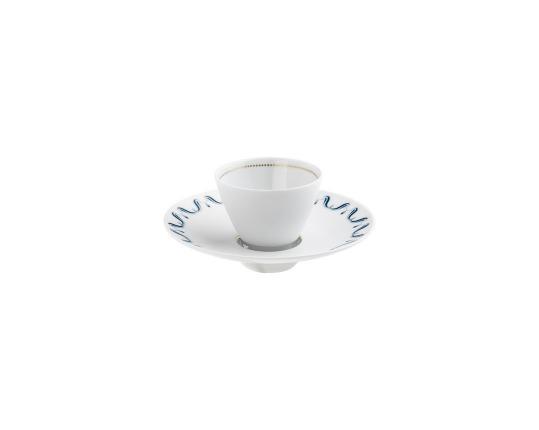 Чаша с блюдцем Alif 70 мл производства Hering Berlin купить в онлайн магазине beau-vivant.com