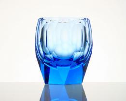 Стакан для виски Cubism 220 мл (аквамарин)