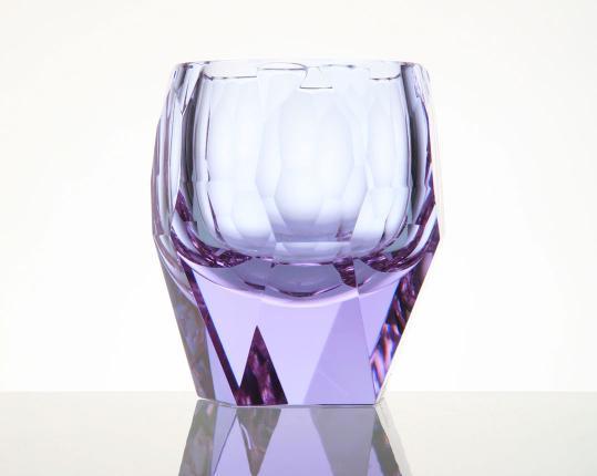 Стакан для виски Cubism 220 мл (александрит) производства Moser купить в онлайн магазине beau-vivant.com