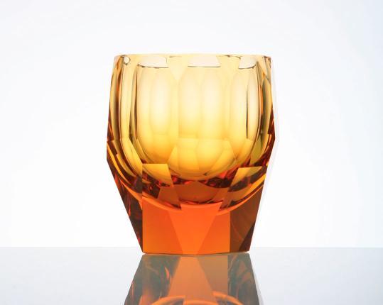Стакан для виски Cubism 220 мл (топаз) производства Moser купить в онлайн магазине beau-vivant.com
