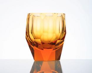 Стакан для виски Cubism 220 мл (топаз)