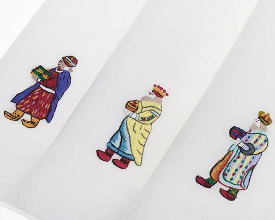 Скатерть Drei Konige 110 см х 110 см производства ERI Textiles купить в онлайн магазине beau-vivant.com