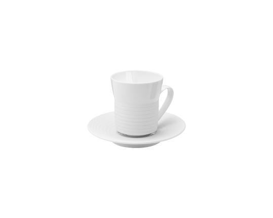 Чашка с блюдцем Pulse 160 мл производства Hering Berlin купить в онлайн магазине beau-vivant.com