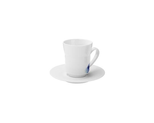 Чашка кофейная с блюдцем Ocean 160 мл (ракушки) производства Hering Berlin купить в онлайн магазине beau-vivant.com