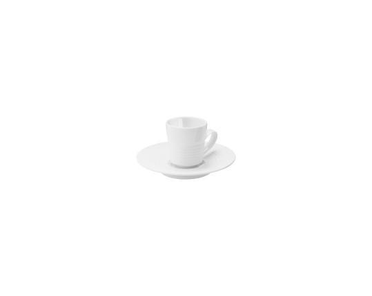 Чашка с блюдцем Pulse 75 мл производства Hering Berlin купить в онлайн магазине beau-vivant.com