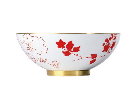 Чаша закругленная Emperor's Garden 26 см  производства Sieger by Fürstenberg купить в онлайн магазине beau-vivant.com