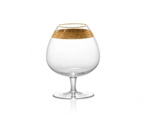 Бокал для коньяка Brandy & Cognac 590 мл (с золотой отводкой)