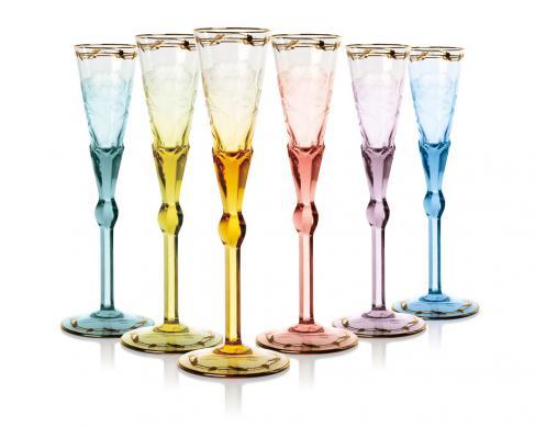 Набор бокалов для шампанского Paula 6 шт