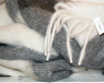 Плед из шерсти Альпака