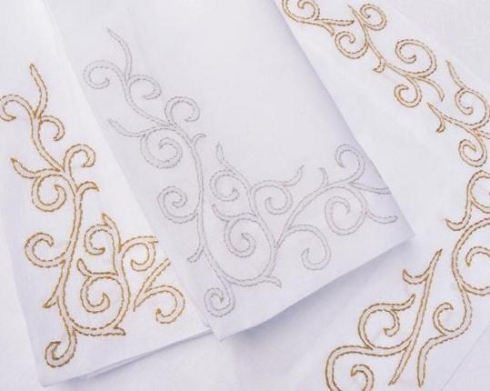 Набор салфеток Arabesk Gold 6 шт производства ERI Textiles купить в онлайн магазине beau-vivant.com